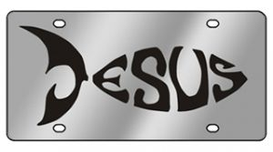 Religious License Plates Car Truck Suv License Plate